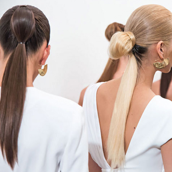 The double ponytail