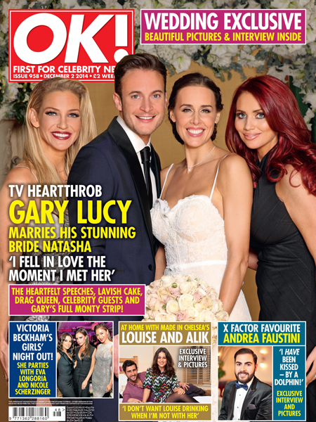 Did you see Richard and Anna from the salon who did the hair for the wedding of Gary and natasha Lucy . The wedding took place at the mandarin oriental in London and was full of stars from stage and screen.